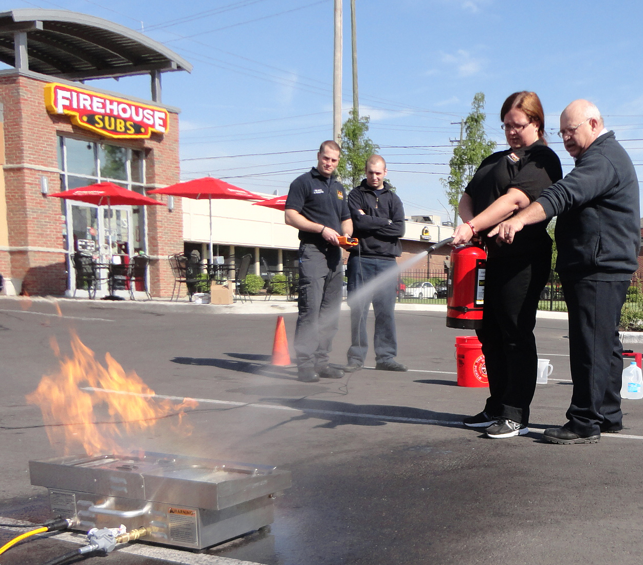 FIREHOUSE SUBS SUPPORTS OSHAWA FIRST RESPONDERS AT SCOTT FIREFIT COMPETITION