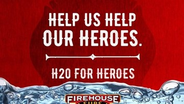 FIREHOUSE SUBS EXTINGUISHES THE HEAT WITH FIFTH ANNUAL H2O FOR HEROES