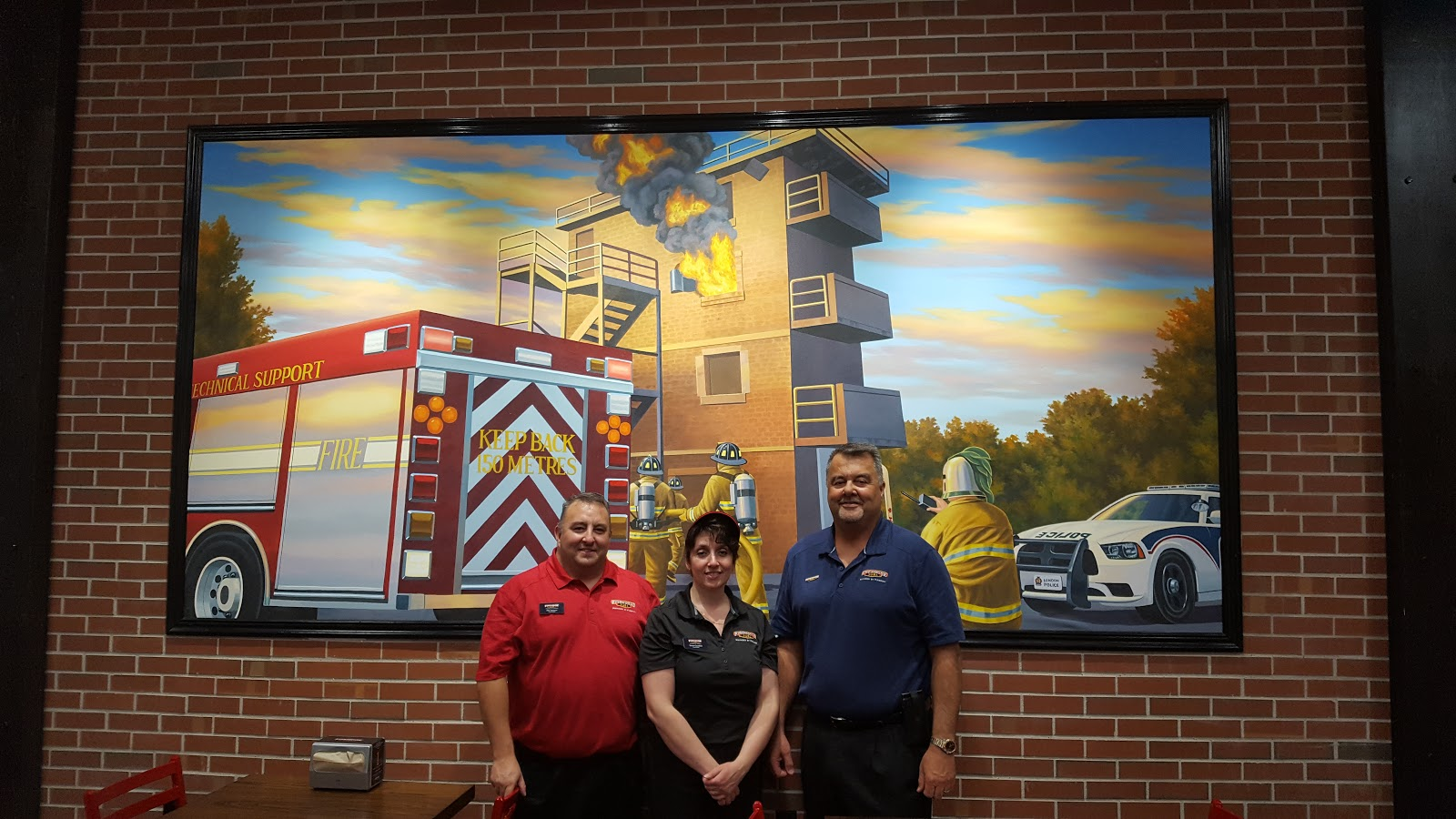 FIREHOUSE SUBS® IGNITES FLAVOUR INFERNO WITH FIRST LONDON RESTAURANT