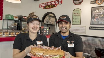FIREHOUSE SUBS OPENS IN NORTH MISSISSAUGA