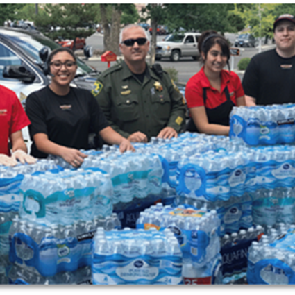FIREHOUSE SUBS® AIDS COMMUNITIES COMPANY-WIDE WITH EIGHTH ANNUAL H2O FOR HEROES™